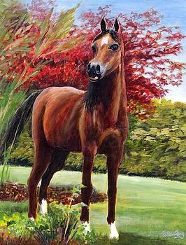 Horse Portrait by Eileen  Fong