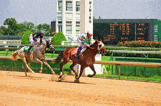 Jill Lang - Horse Racing at Churchill Downs