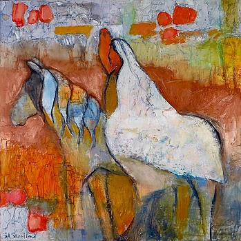 Horse, Rider, Bird by Sally Sweetland