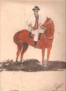 Horse Rider by Pradeep Nair