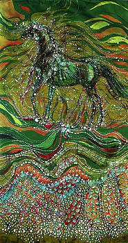 Horse Rises From The Earth by Carol Law Conklin