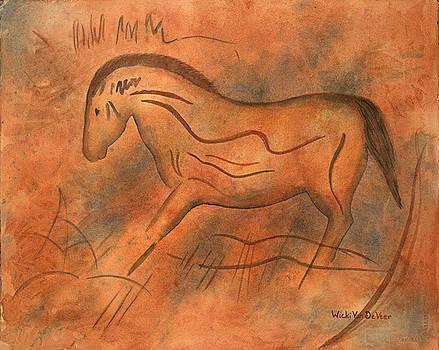 Horse by Wicki Van De Veer