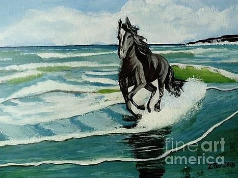Horse by Zornitsa Tsvetkova