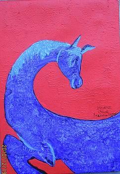 Horseblue by Maria tereza Braz