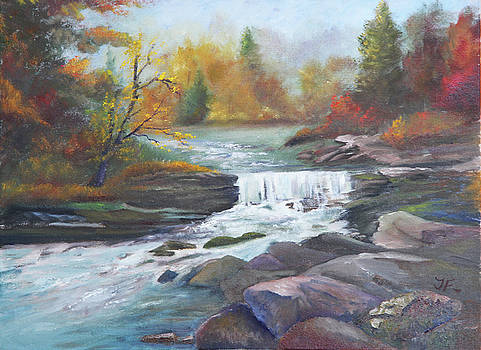 Horsepasture River  by Tim Ford