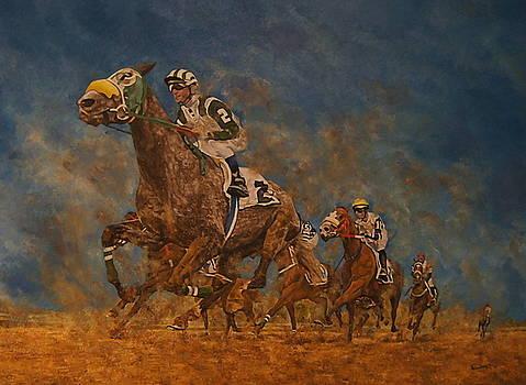 Horseracing in Saudi Arabia by Erna Goudbeek