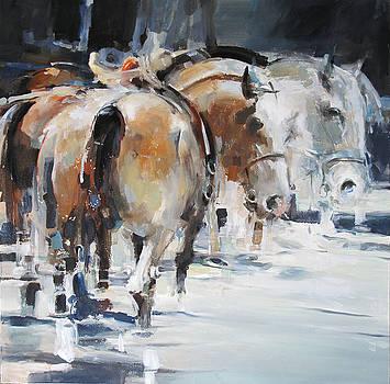 Horses 2 by Tony Belobrajdic