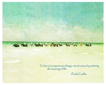 Horses in Ocean by Ken Reardon