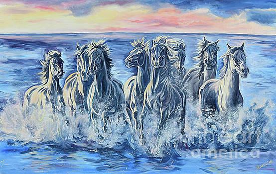 Horses of the Sea by Jana Goode