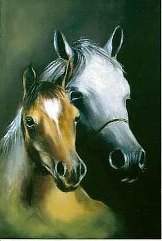 Horses by Tony Calleja