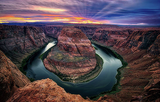 Horseshoe Bend by Jerry Fornarotto