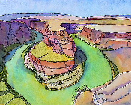 Horseshoe Bend by Stacy Egan
