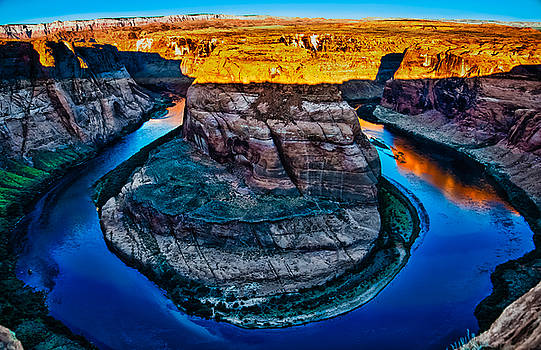 Horseshoe Canyon by Mike Berry