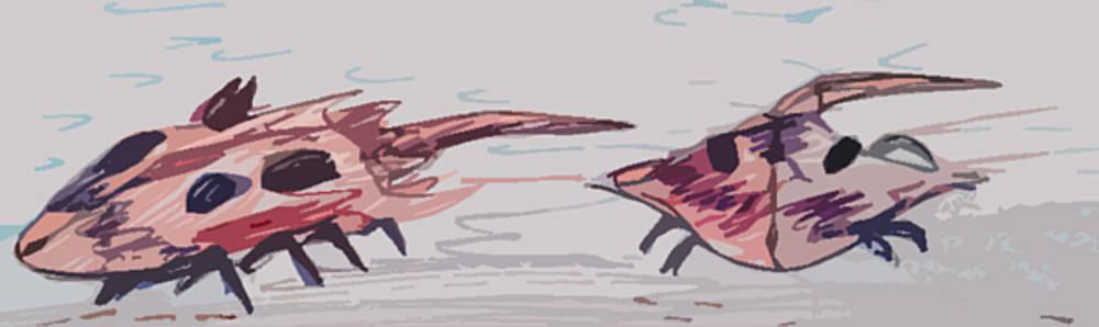Horseshoe Crabs by Andrew Blitman