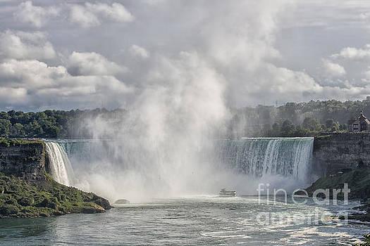 Patricia Hofmeester - Horseshoe Falls at Niagara Falls
