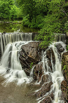Horseshoe Falls, Pequabuck, Plymouth Connecticut by Skyelyte Photography by Linda Rasch