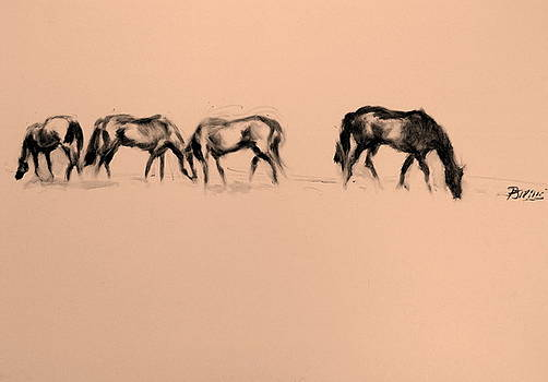HorsesSeries by Patrick Mills