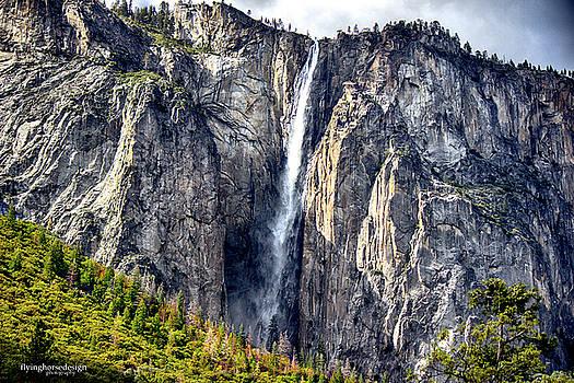 Horsetail Falls by John Heywood
