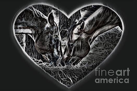 Horsey Love Dark Shades by Cindy New