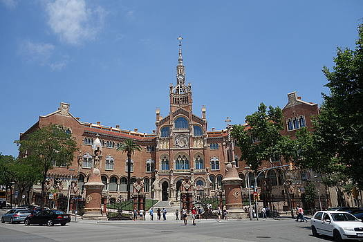 Hospital in Barcelona by C Lythgo