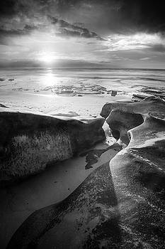 Hospital Point - Low Tide at Sunset by Alexander Kunz