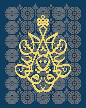 Hossein--Blue Mod by Misha Maynerick Blaise