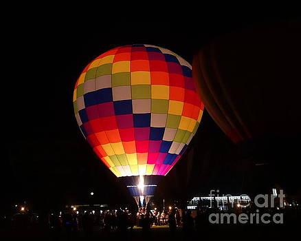 Hot Air Balloon Bright Burn by Justin Moore