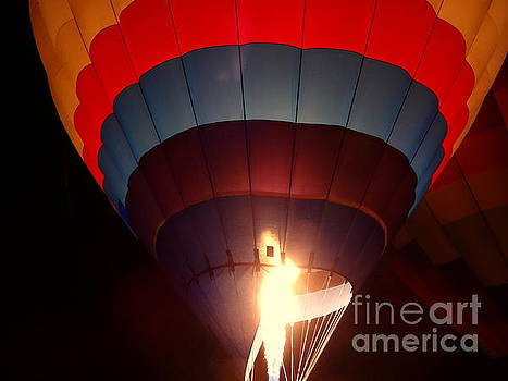 Hot Air Balloon Flame by Justin Moore