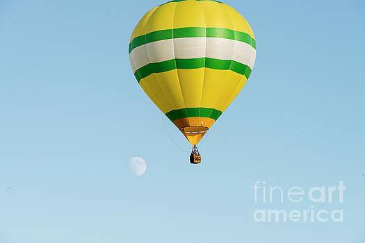 Dan Friend - Hot air balloon with moon