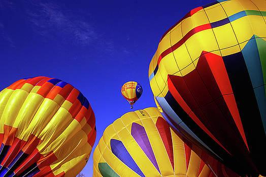 Hot Air Ballooning by Paul Wash