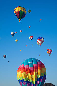 Hot Air Balloons 8 by Nicolas Raymond