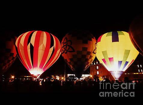 Hot Air Balloons Burn by Justin Moore