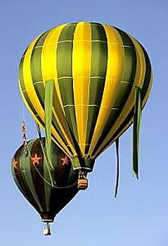 Hot Air Balloons by Floyd Bond