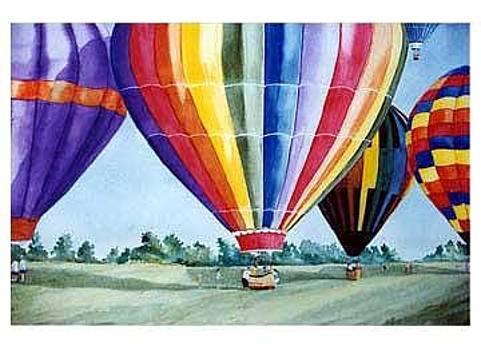 Hot Air Balloons by Kris Killman