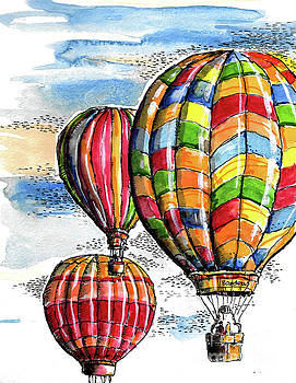 Hot Air Balloons by Terry Banderas