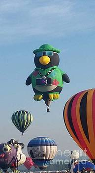 Hot Air Penguin by Becca J