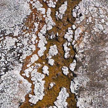 Hot Cascades Abstract by Jason Kolenda