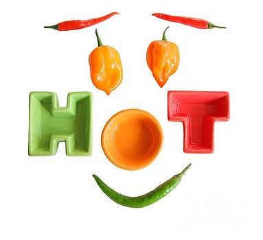 Hot Chillies by Susan Wall