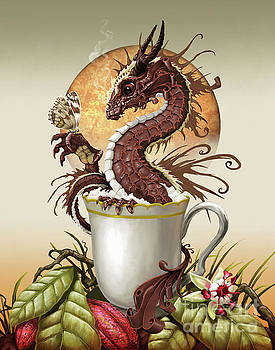 Hot Chocolate Dragon by Stanley Morrison