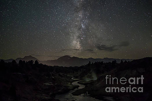 Hot Creek and the Milky Way  by Kevin Westenbarger