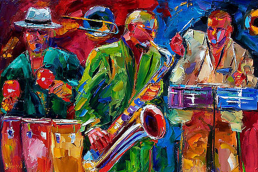 Hot Cuban Jazz by Debra Hurd