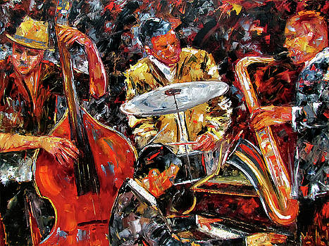 Hot Jazz 4 by Debra Hurd