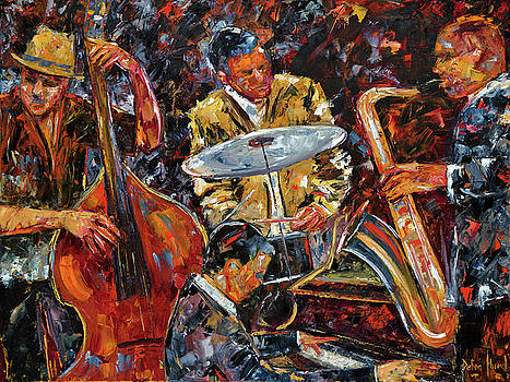 Hot Jazz series 4 by Debra Hurd