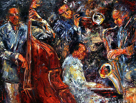 Hot Jazz three by Debra Hurd