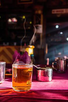 Hot Morning Tea by Owen Weber