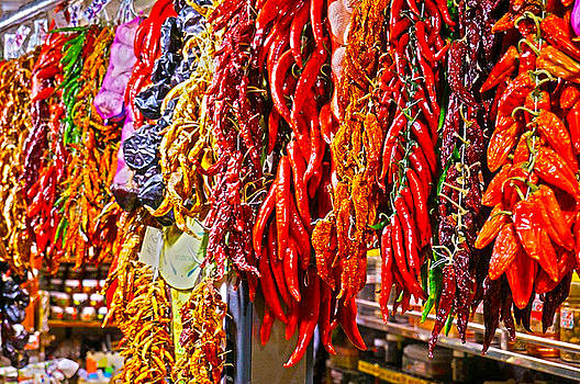 Hot Peppers by Nadine Dennis