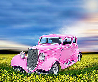 Hot Pink Ford by Lori Hutchison