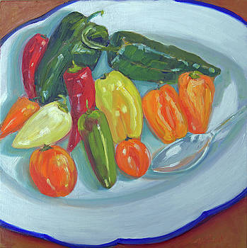 Hot Plate by Sarah Sheffield