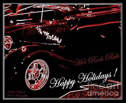 Hot Rods Happy Holidays by Bobbee Rickard