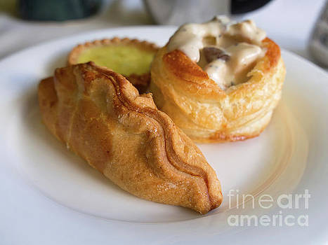 Hot Savoury Pastries by Louise Heusinkveld